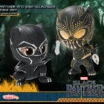 Black Panther and Killmonger Cosbaby Bobble-Heads unveiled by Hot Toys