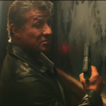 Sylvester Stallone and Dave Bautista get into a shoot out in Escape Plan 2: Hades clip