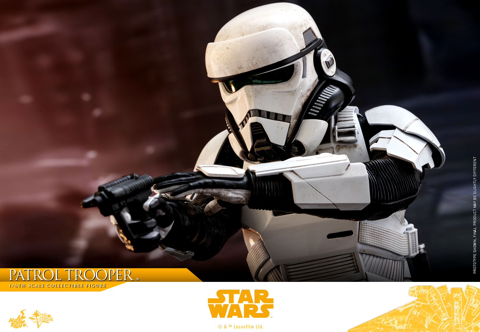 Solo A Star Wars Story S Imperial Patrol Trooper Hot Toys Figure