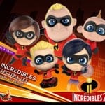 Incredibles 2 Cosbaby Collectible figures unveiled by Hot Toys