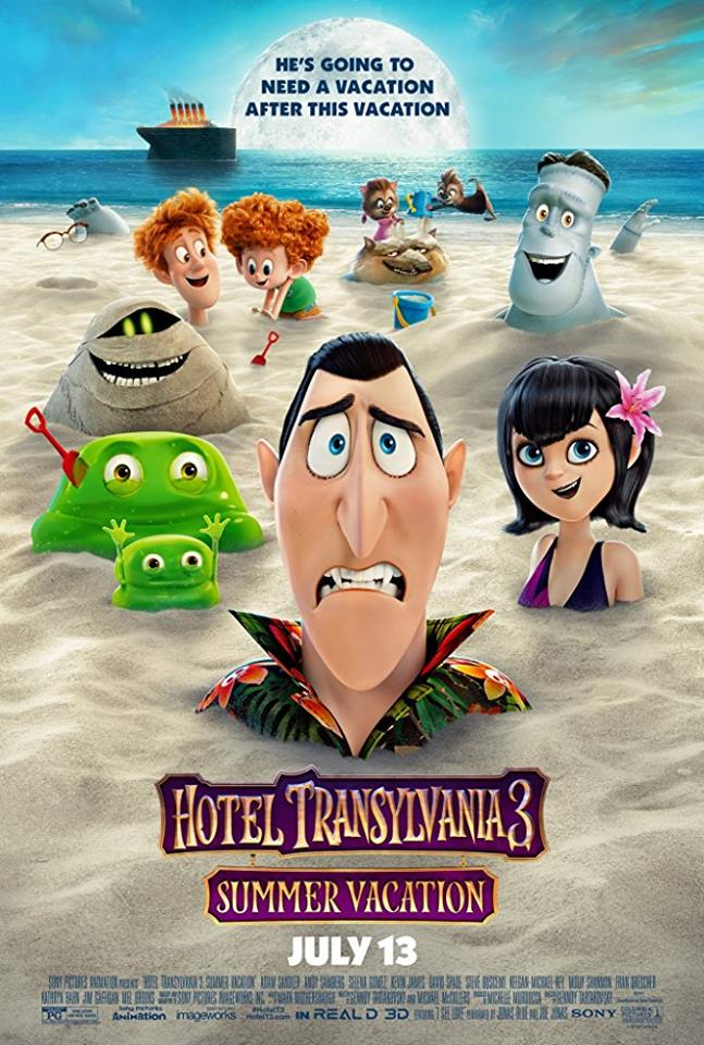 Hotel Transylvania 3: Summer Vacation Gets A New Poster