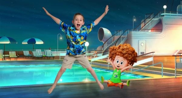 Hotel Transylvania 3 Summer Vacation Cast Pose With Their Characters In New Promo Images