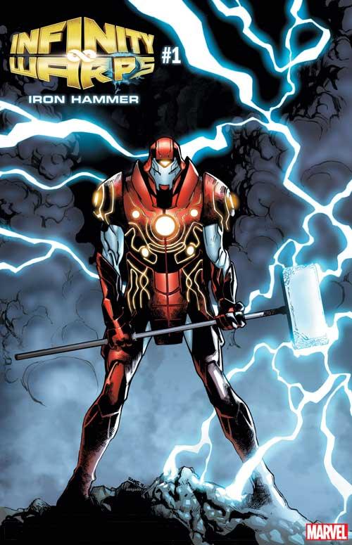 Marvel Announces Infinity Warps Superhero Mashups