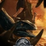 Owen, Claire and Blue featured on latest Jurassic World: Fallen Kingdom poster