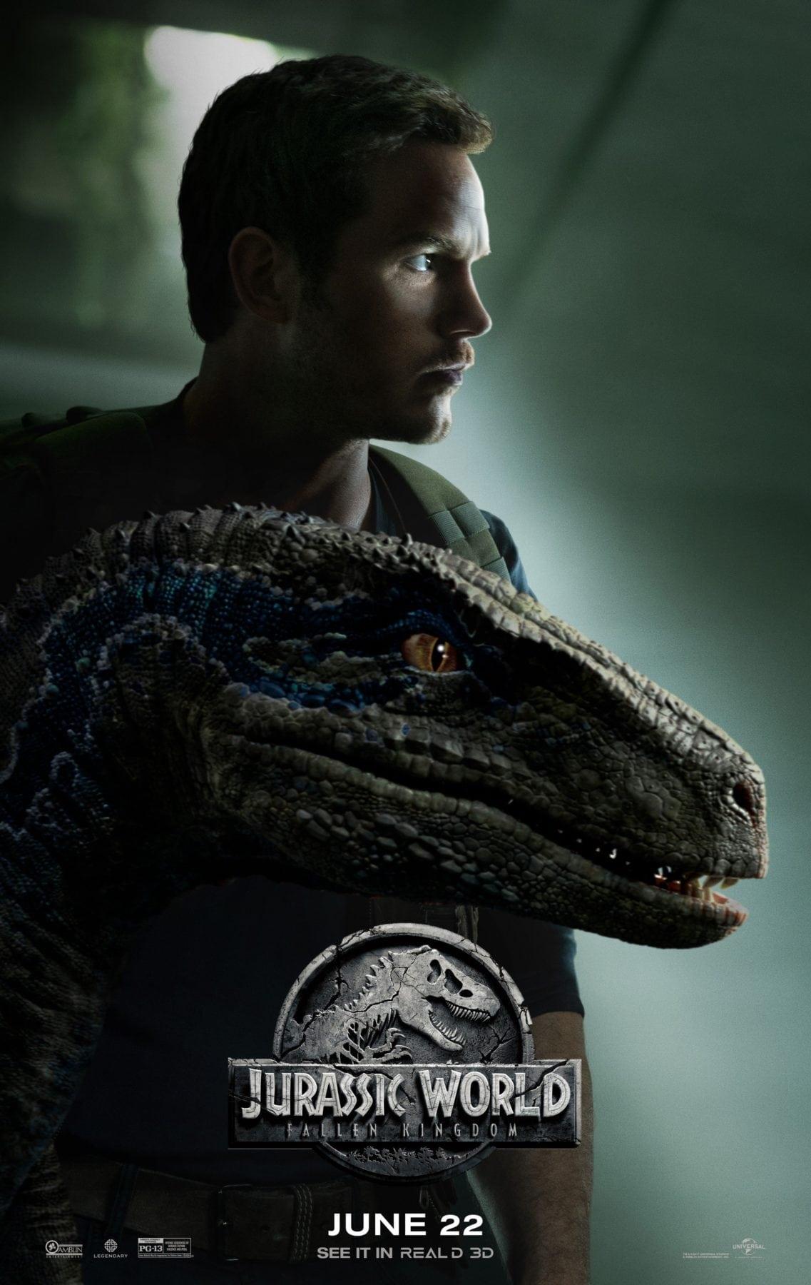 Owen And Blue Featured On New Jurassic World Fallen