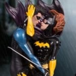 DC Designer Series Nightwing and Batgirl statue unveiled