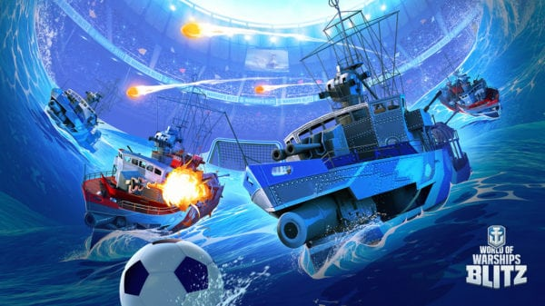 World of Warships Blitz celebrates a certain sporting event