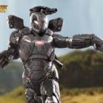 Iron Studios' War Machine Avengers: Infinity War Battle Diorama Statue revealed