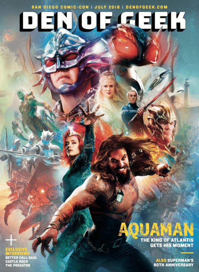 Shazam Aquaman Get New Magazine Covers: DC's Aquaman And Shazam! Grace Magazine Covers Ahead Of