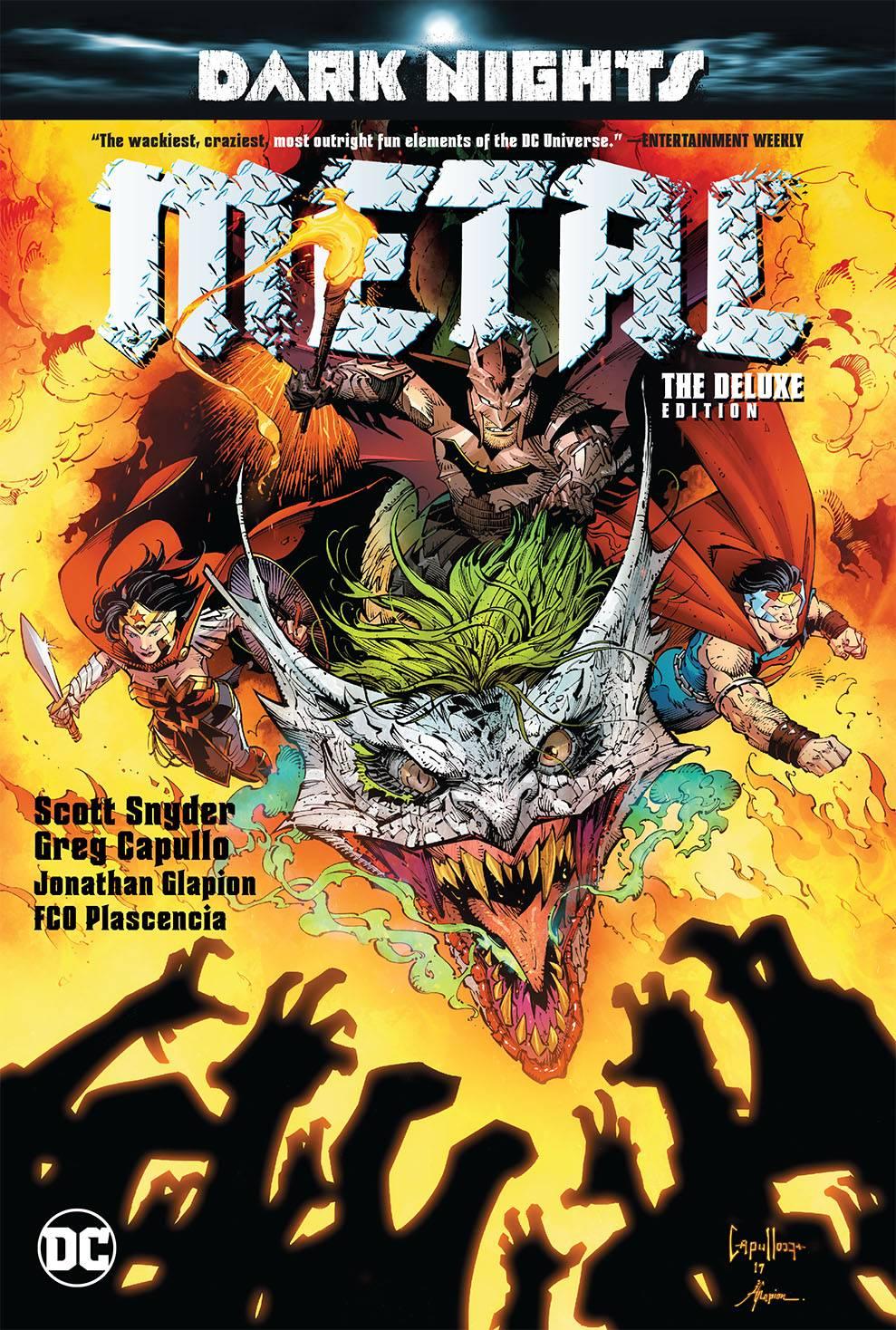 Justice League and Dark Nights: Metal top bestselling comics