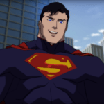 The Man of Steel battles Mannheim in clip from The Death of Superman animated movie