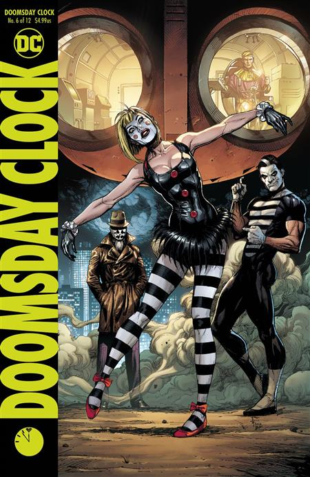 Comic Book Review - Doomsday Clock #6