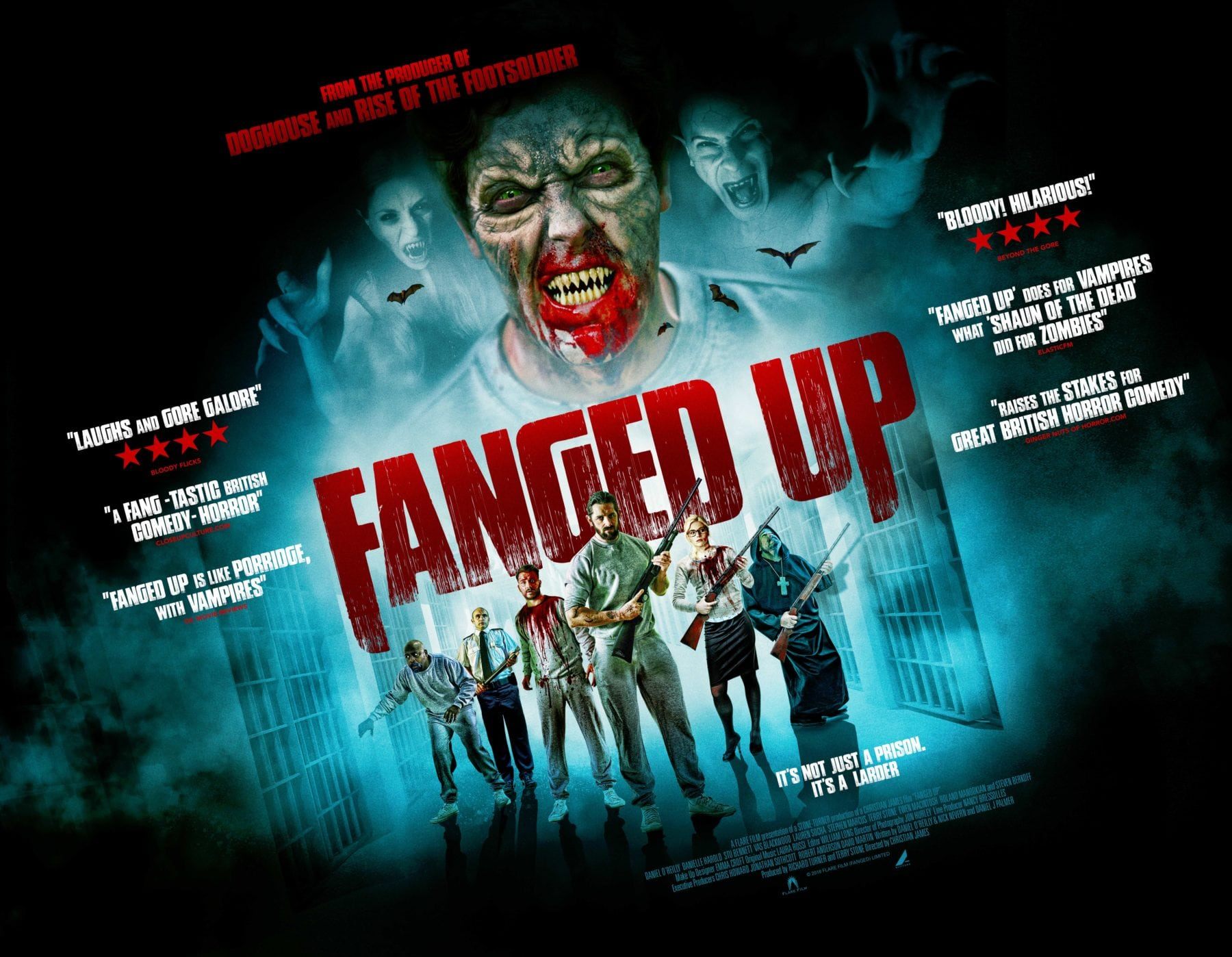 British Horror Comedy Fanged Up Gets A New Poster