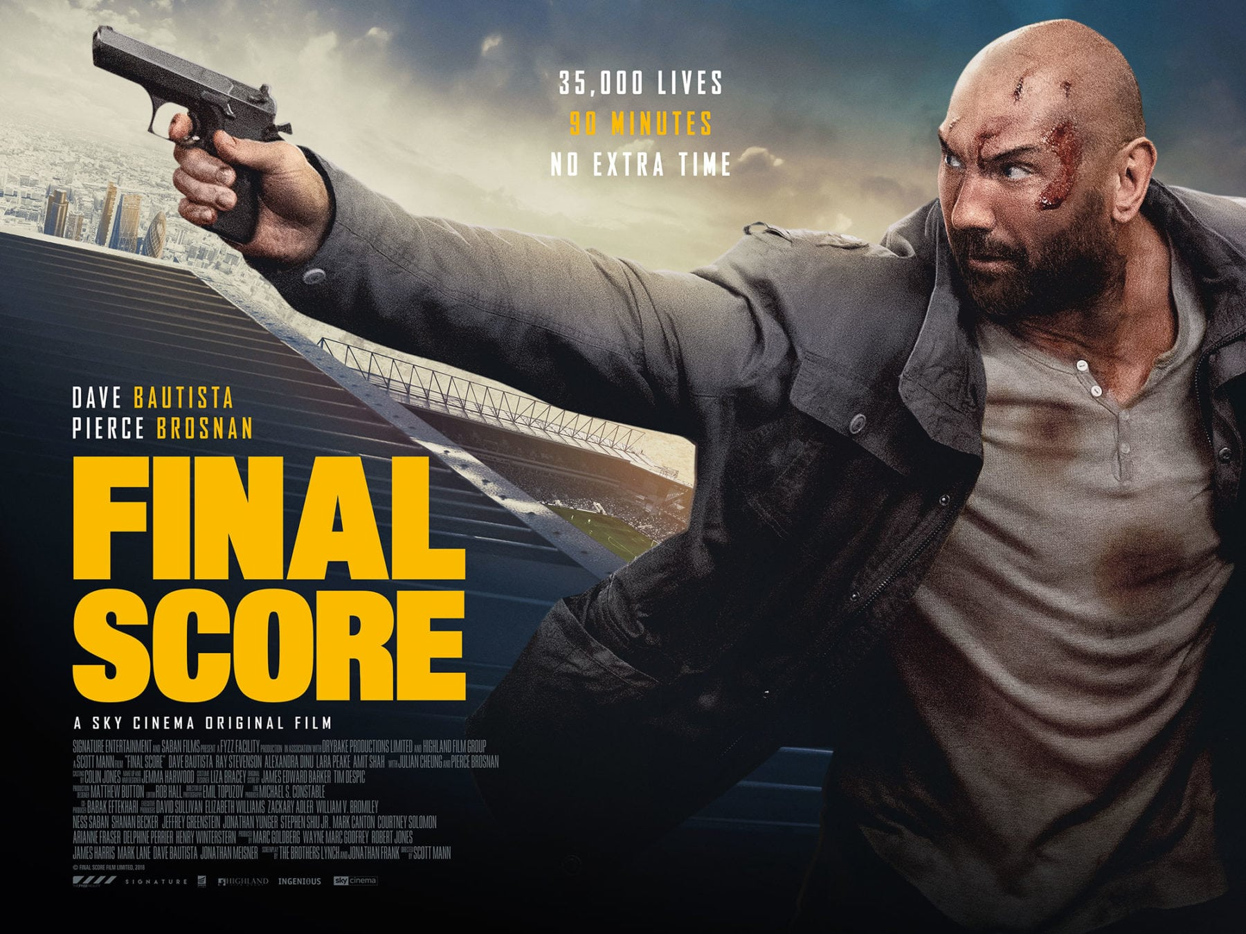 2018 Movie Posters: Movie Review - Final Score (2018)