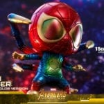 Hot Toys reveals its Iron Spider (Galaxy Color Version) Cosbaby Bobble-Head from Avengers: Infinity War