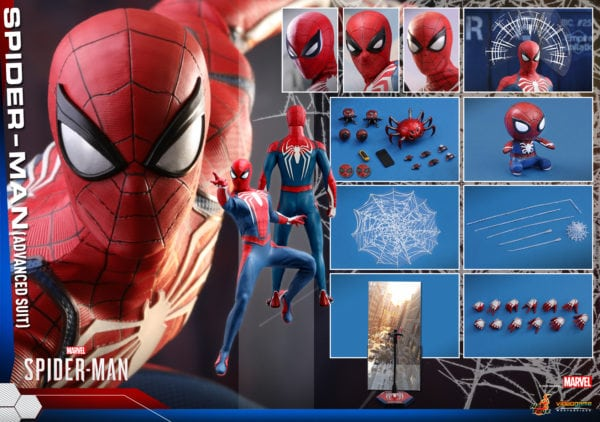 Hot-Toys-Marvel-Spider-Man-Spider-Man-Advanced-Suit-collectible-figure-11-600x422