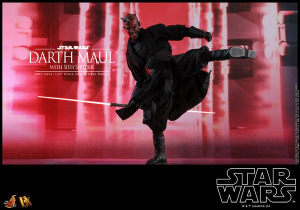 Hot-Toys-Star-Wars-Darth-Maul-with-Sith-Speeder-collectible-figure-14-600x420