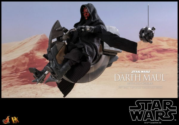 Hot-Toys-Star-Wars-Darth-Maul-with-Sith-Speeder-collectible-figure-3-600x420