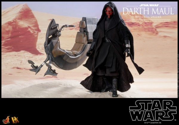 Hot-Toys-Star-Wars-Darth-Maul-with-Sith-Speeder-collectible-figure-4-600x420
