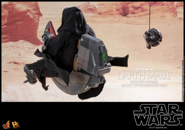 Hot-Toys-Star-Wars-Darth-Maul-with-Sith-Speeder-collectible-figure-5-600x420