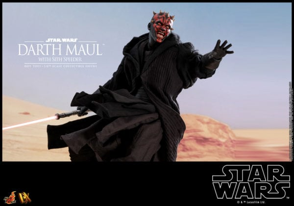 Hot-Toys-Star-Wars-Darth-Maul-with-Sith-Speeder-collectible-figure-9-600x420