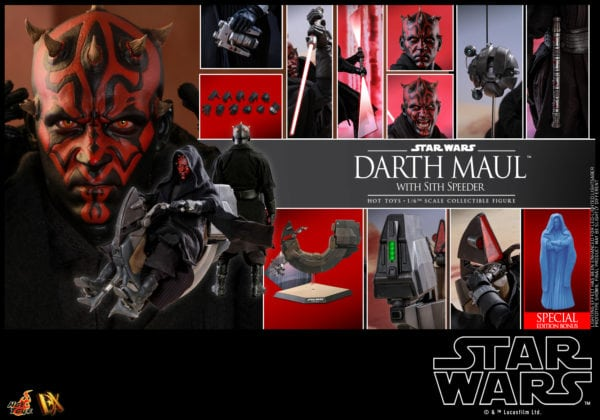 Hot-Toys-Star-Wars-Darth-Maul-with-Sith-Speeder-collectible-figure_PR28-Special-600x420