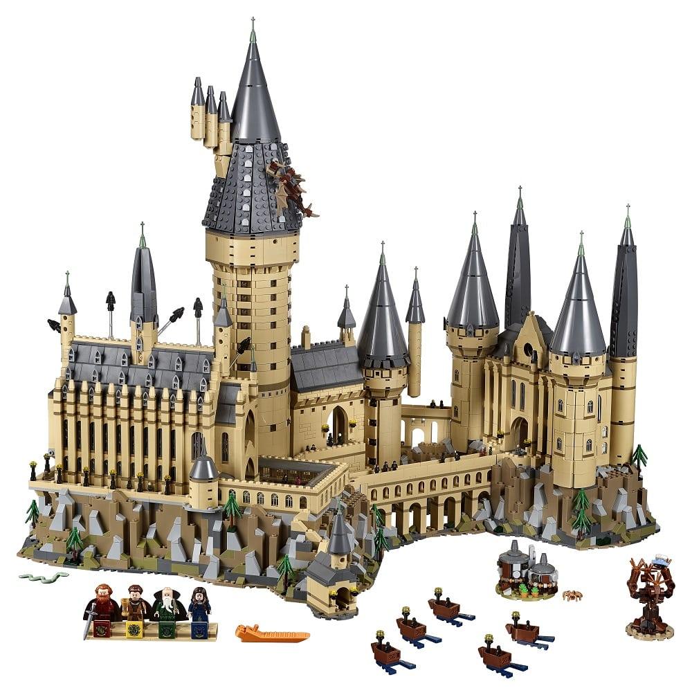LEGO unveils its 6020-piece Harry Potter Hogwarts Castle set
