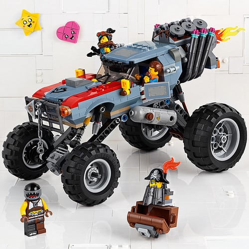 first the lego movie 2 the second part tie in sets revealed