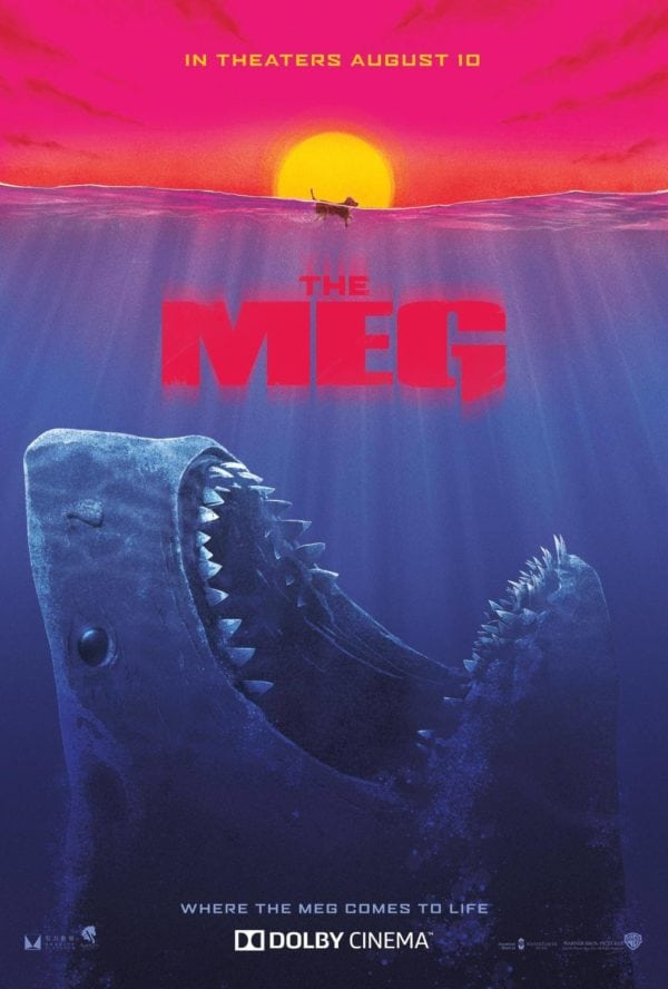 the meg gets a jaws inspired poster