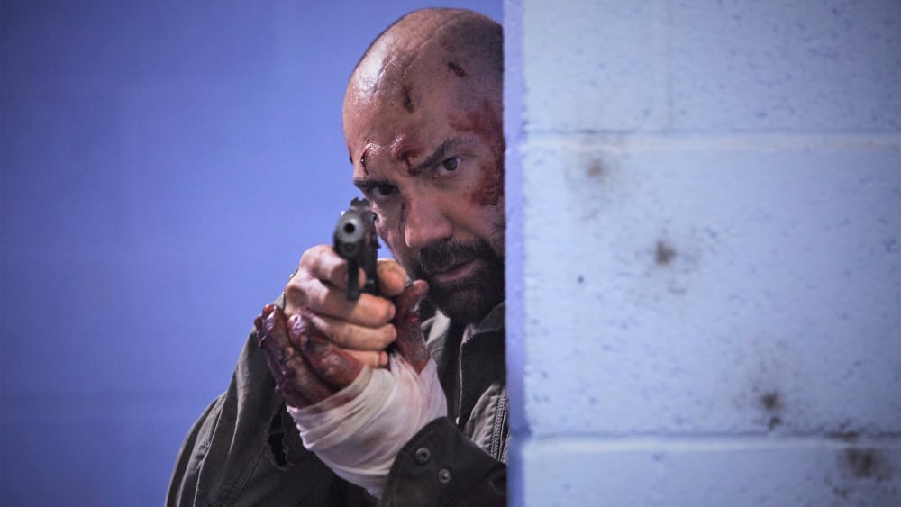 Dave Bautista to produce and star in action thriller Traphouse