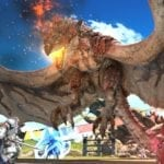 Final Fantasy XIV Online and Monster Hunter: World come together in August for one major hunt