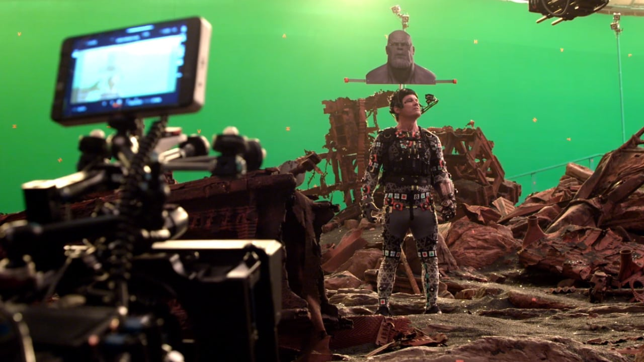Go behind-the-scenes of the Titan battle with Avengers: Infinity War