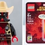 LEGO's Comic-Con exclusive Sheriff Deadpool minifigure revealed