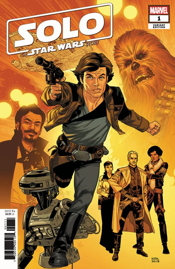 Marvel to expand upon Solo: A Star Wars Story with comic