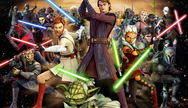 Dave Filoni reveals that Star Wars: The Clone Wars was