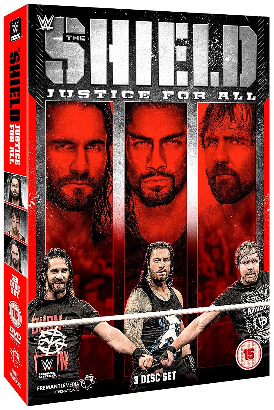 dvd review wwe the shield justice for all. Black Bedroom Furniture Sets. Home Design Ideas