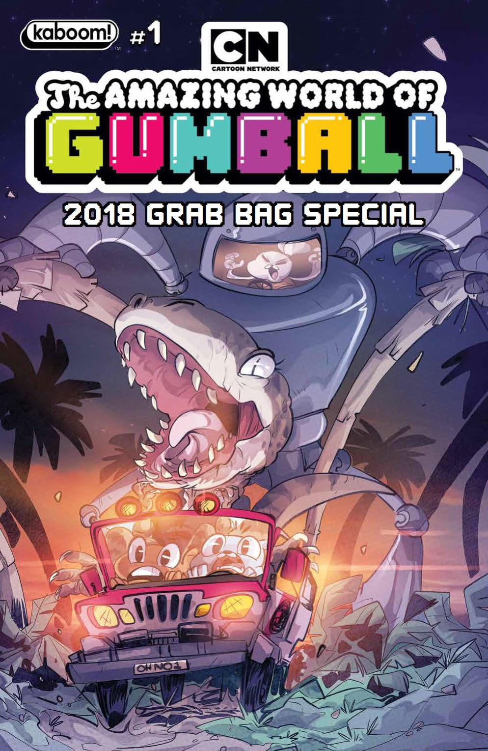 Preview Of The Amazing World Of Gumball 2018 Grab Bag