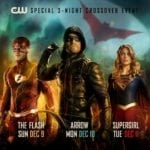 The CW releases poster for The Flash, Arrow and Supergirl crossover event