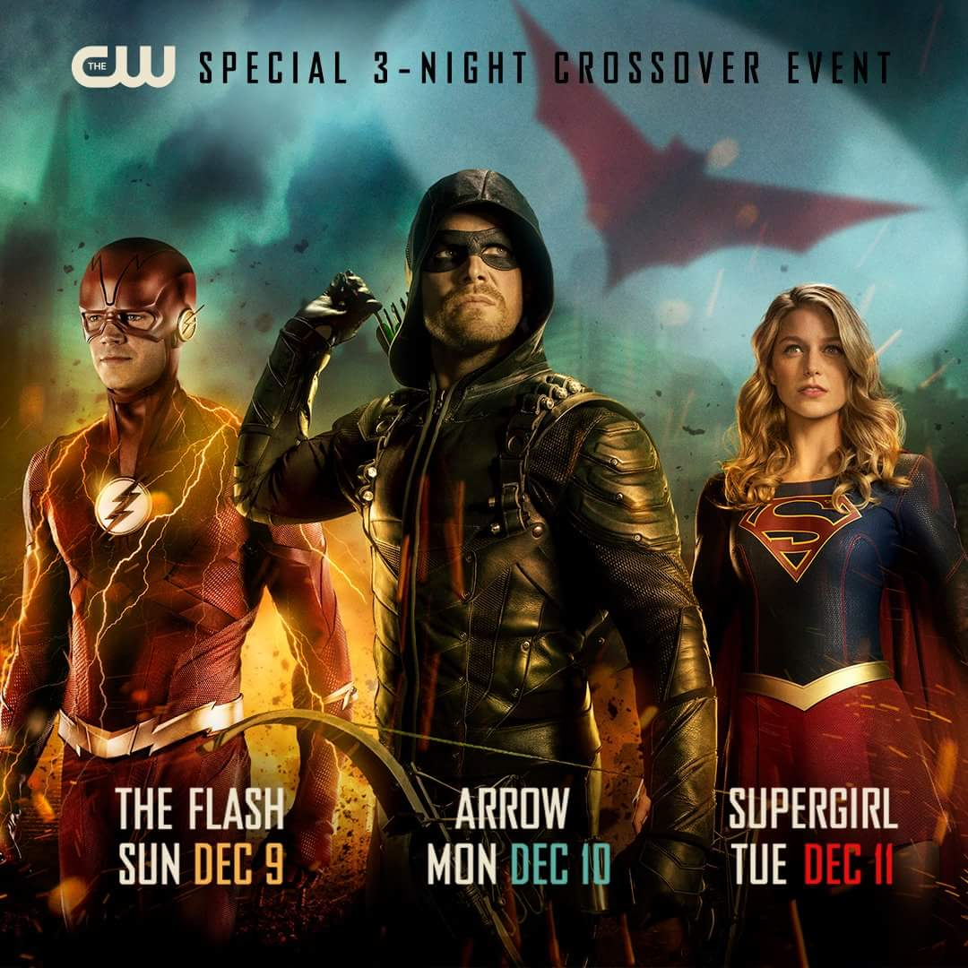Harry Maguire Wallpaper: The CW Releases Poster For The Flash, Arrow And Supergirl