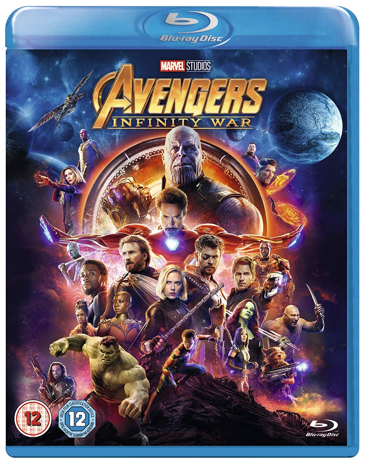 Avengers Infinity War (2018) BluRay 720p 950MB ORG Dual Audio ( Hindi – English ) ESubs MKV