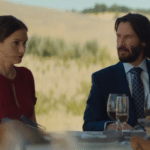 Watch two clips from Destination Wedding starring Keanu Reeves and Winona Ryder