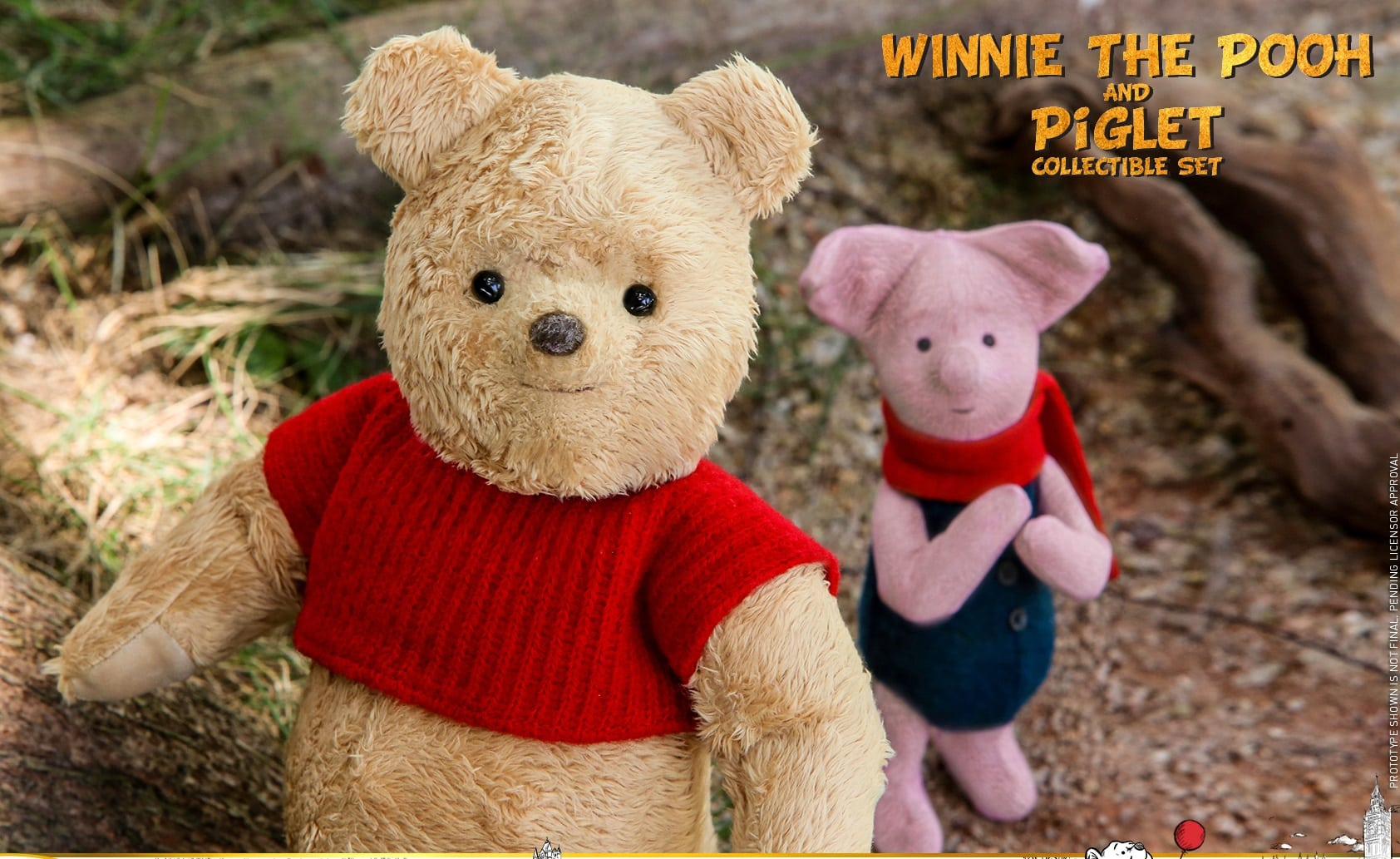 e3bdc0f8a0de Disney s Christopher Robin gets a Winnie the Pooh and Piglet Movie  Masterpiece Series set from Hot Toys