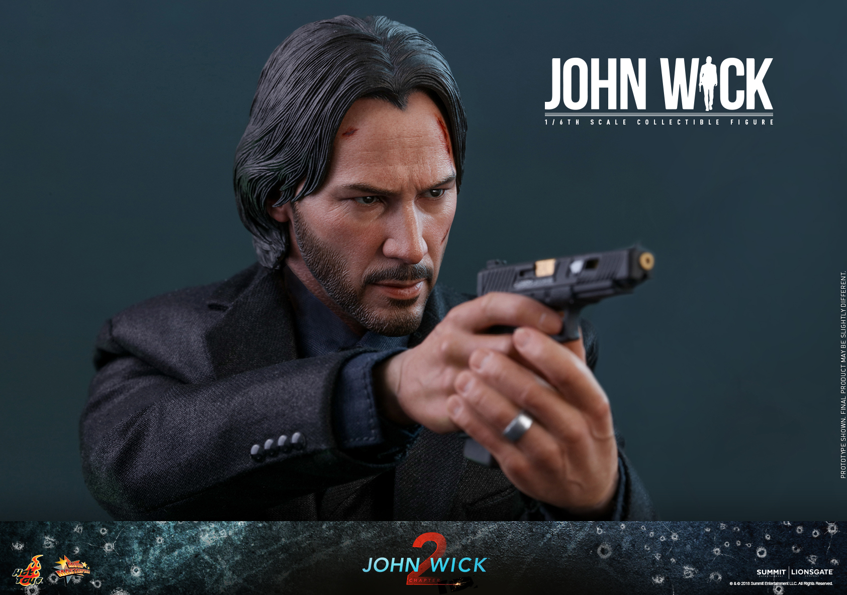 John Wick gets a Movie Masterpiece Series collectible figure
