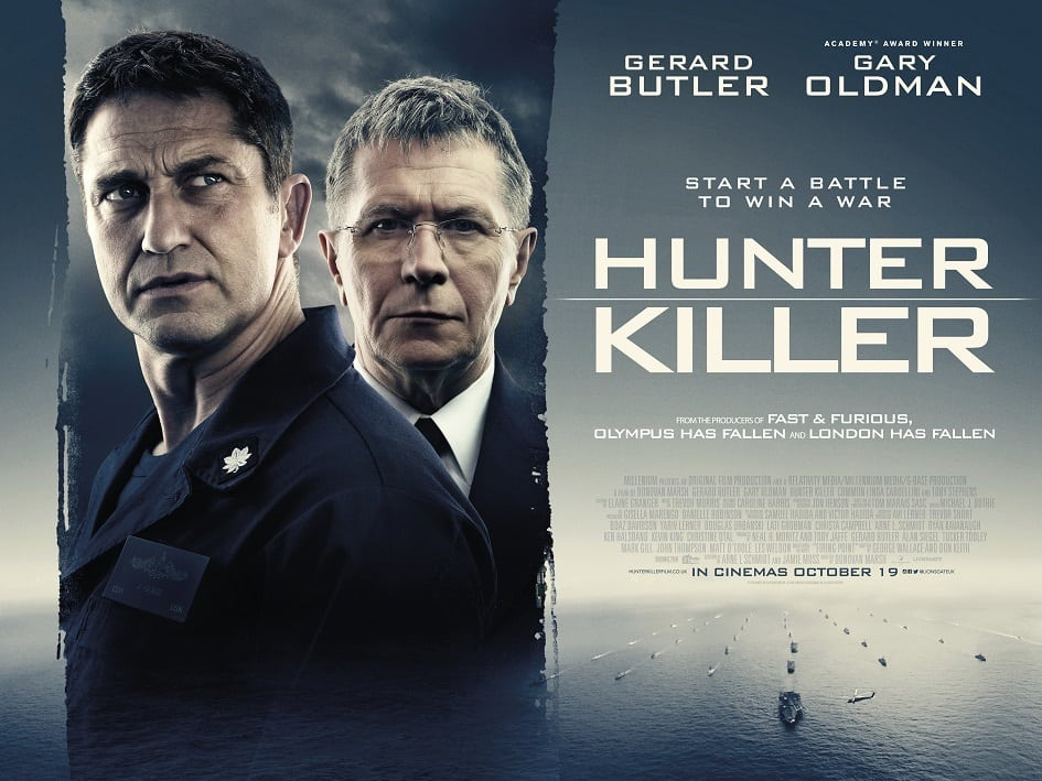gerard butler and gary oldman featured on new hunter