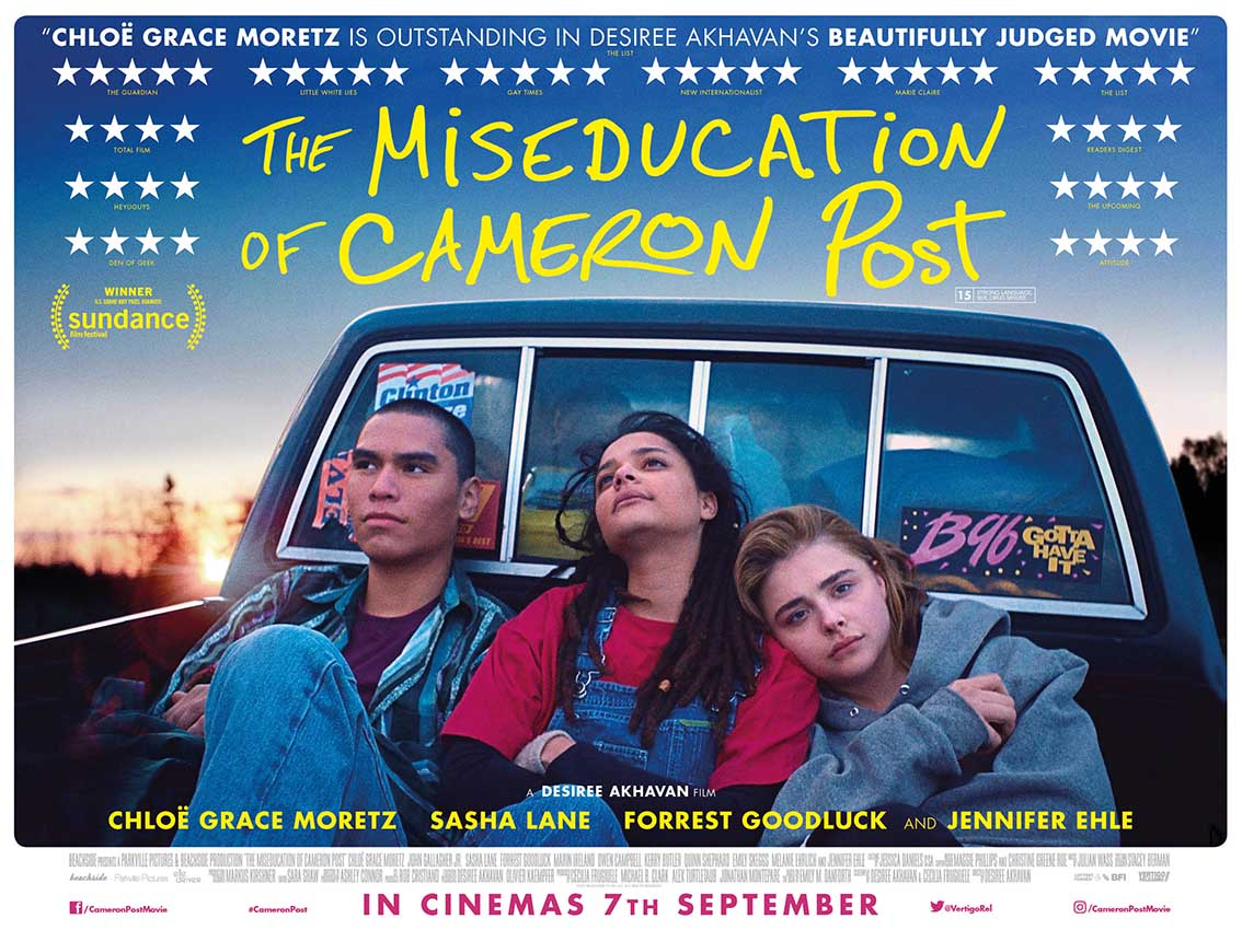 UK poster and trailer for The Miseducation of Cameron Post ...