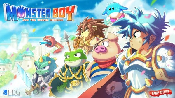 Release date announced for Monster Boy and the Cursed Kingdom