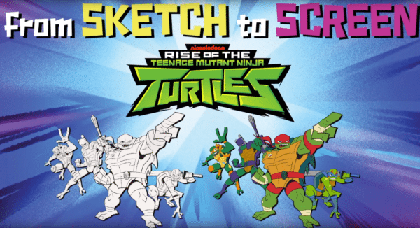 Go Behind The Scenes Of Rise Of The Teenage Mutant Ninja