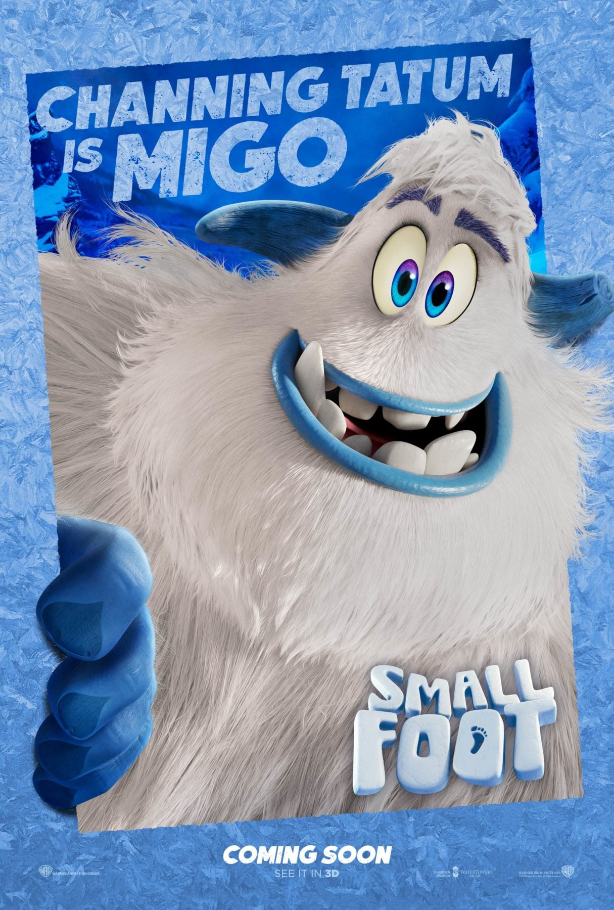 smallfoot gets a new trailer and character posters