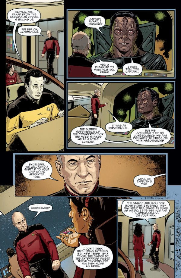 Preview of Star Trek: The Next Generation: Terra Incognita #2