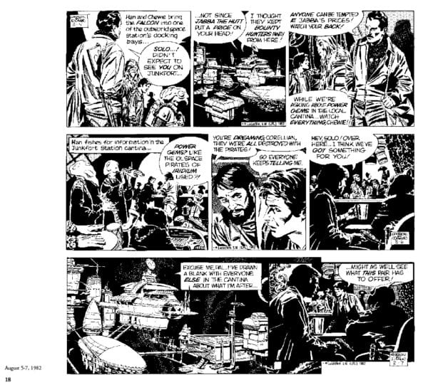Preview of Star Wars: The Classic Newspaper Comics Vol. 3